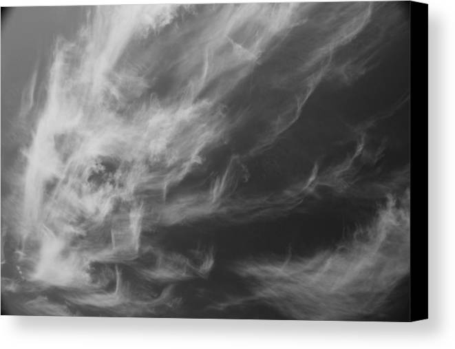 Sky Canvas Print featuring the photograph Fall From Earth by Ellery Russell