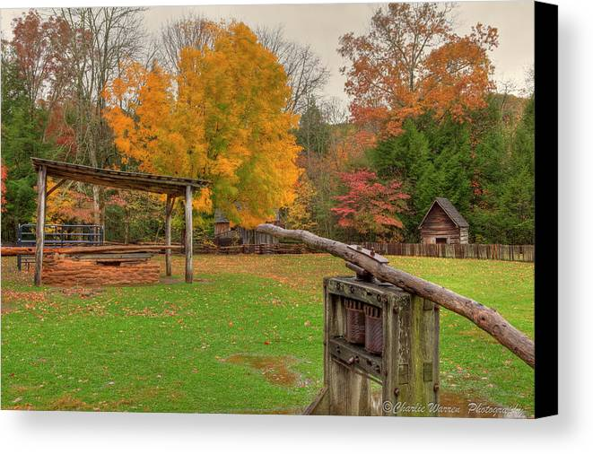 2010 Canvas Print featuring the photograph Farm Iv by Charles Warren