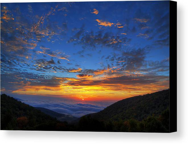 Metro Canvas Print featuring the photograph Good Morning Virginia by Metro DC Photography