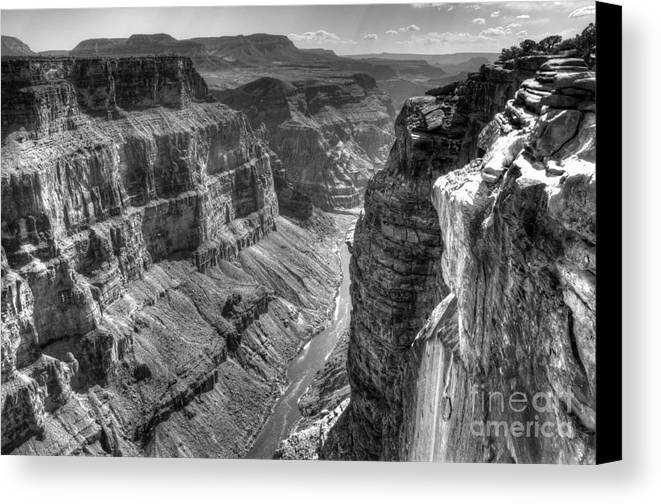 Grand Canyon Canvas Print featuring the photograph Grand Canyon 2 by Vivian Christopher