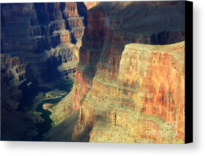Grand Canyon Canvas Print featuring the photograph Grand Canyon Magic Of Light by Bob Christopher