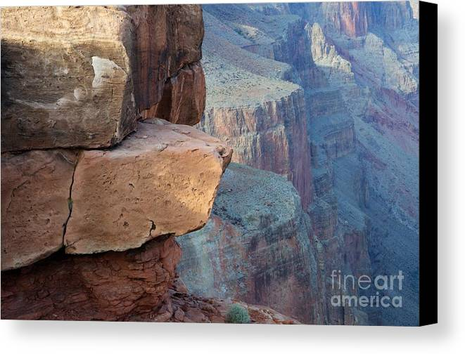 Grand Canyon Canvas Print featuring the photograph Grand Canyon Raw Nature by Bob Christopher