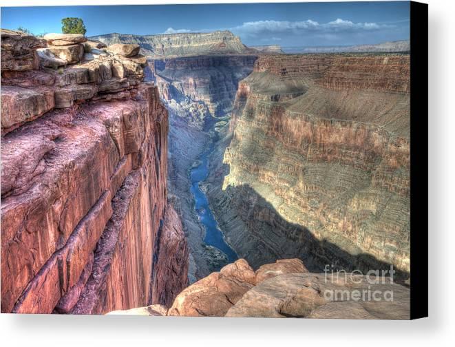 Grand Canyon Canvas Print featuring the photograph Grand Canyon Toroweap Vista by Bob Christopher