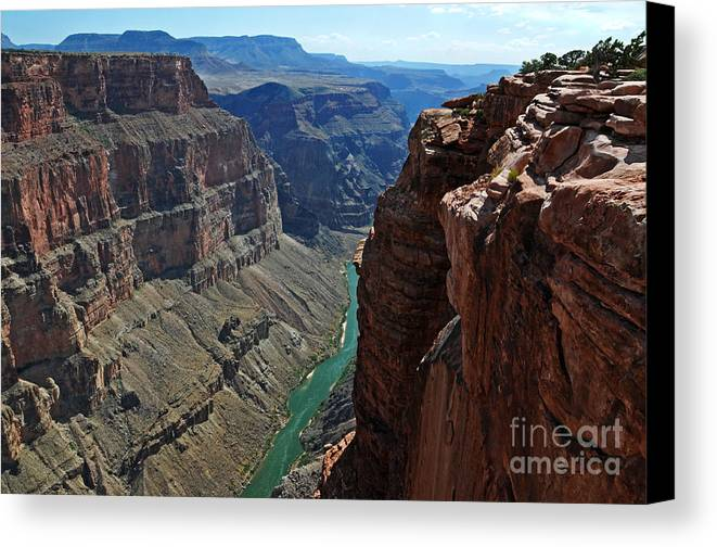 Grand Canyon Canvas Print featuring the photograph Grand Canyon View by Vivian Christopher