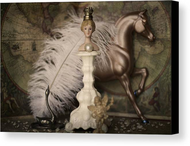 Fantasy Canvas Print featuring the photograph Helen Of Troy by Heidi Thrasher