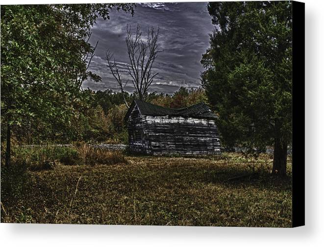 Collapse Canvas Print featuring the photograph Hermit Life by Ryan Crane