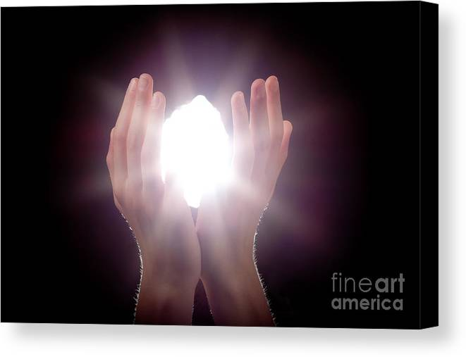 Light Canvas Print featuring the photograph Inspiration by Cindy Singleton