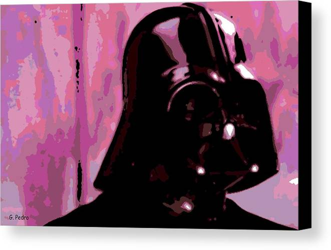 Good Side Canvas Print featuring the photograph Is This My Good Side? by George Pedro