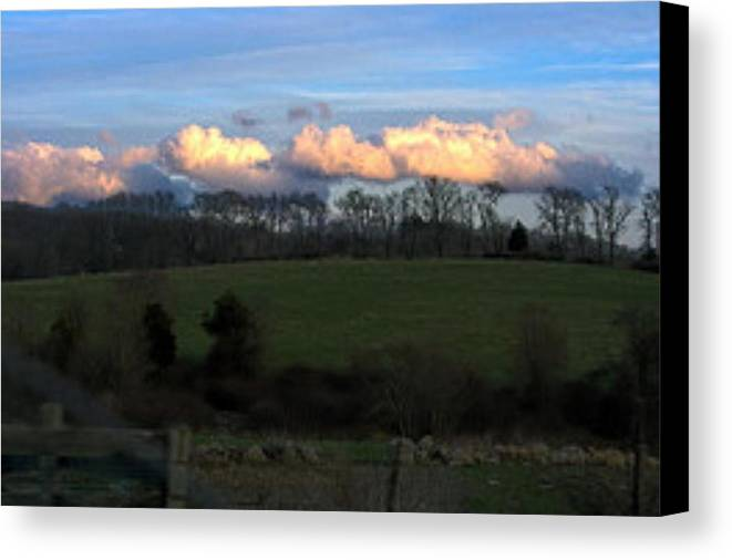 Country Landscape Canvas Print featuring the photograph Land Preserved by James McDowell