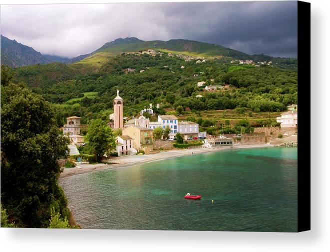 Horizontal Canvas Print featuring the photograph Lavasina View by FCremona