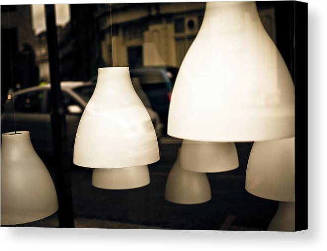 Light Shades Canvas Print featuring the photograph Light Shades by Kaz Moutarde