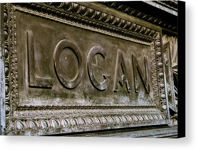 Logan Canvas Print featuring the photograph Logan Circle by Claude Taylor