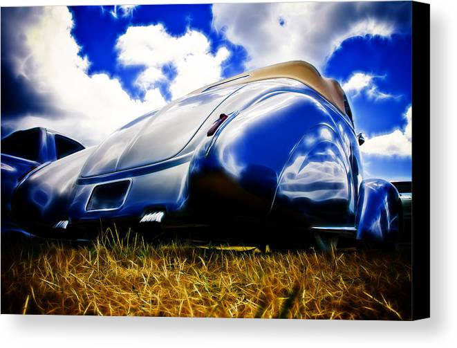 Ford Canvas Print featuring the photograph Low Ford Roadster by Phil 'motography' Clark