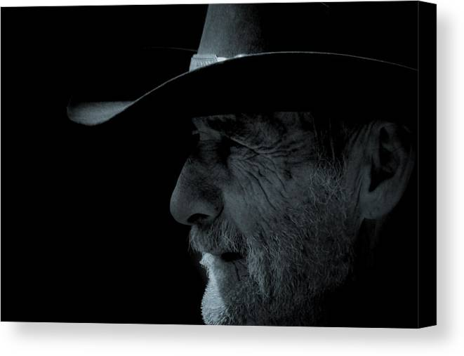 Cowboys Canvas Print featuring the photograph Midnight Cowboy by Christine Till