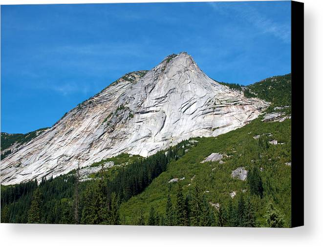 Nature Canvas Print featuring the photograph Needle Peak by Ivan SABO