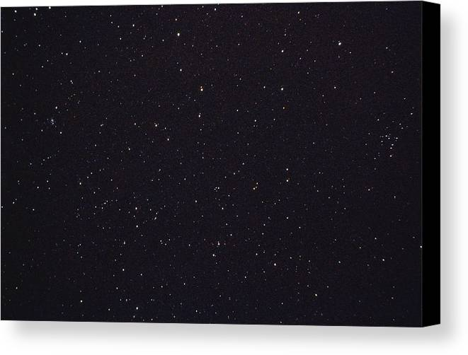 Horizontal Canvas Print featuring the photograph Night Sky by Stocktrek