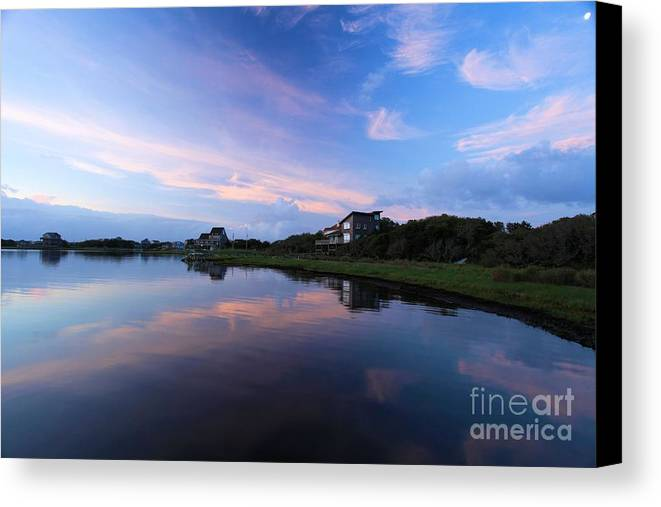 North Carolina Outer Banks Canvas Print featuring the photograph Outer Banks Sunrise by Adam Jewell