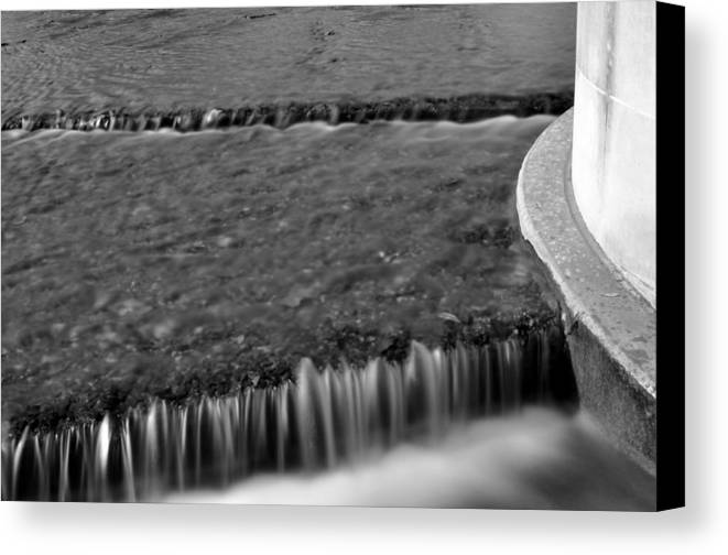 Water Canvas Print featuring the photograph Over The Edge by Jonathan Garrett