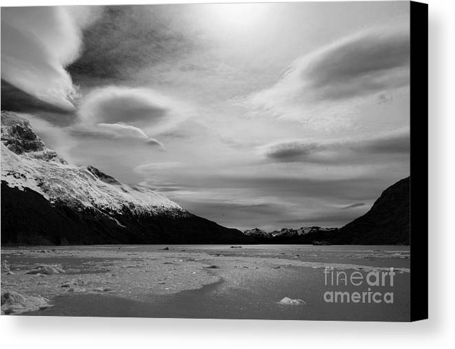 Landscape Canvas Print featuring the photograph Patagonian Sky by Jon Daly