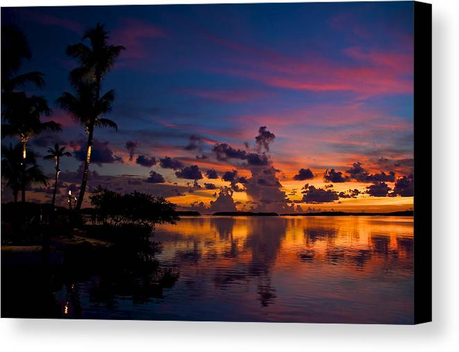 Florida Canvas Print featuring the photograph Perfect Reflection by Mike Horvath