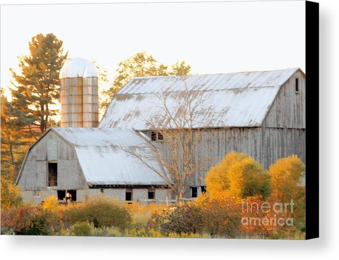 Barn Canvas Print featuring the photograph Quiet Country by Joe Jake Pratt