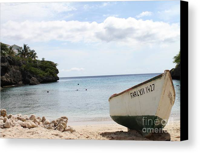 Caribbean Canvas Print featuring the photograph Relaxation by Eric Chapman