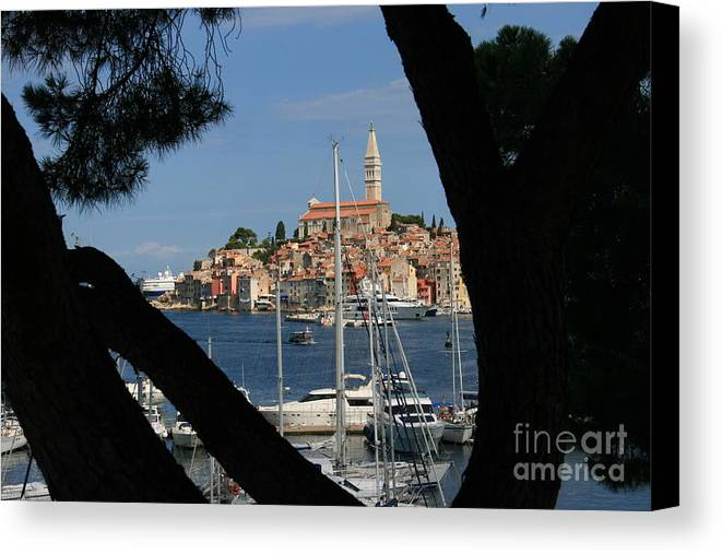 Rovinj Canvas Print featuring the photograph Rovinj by Andy Mercer