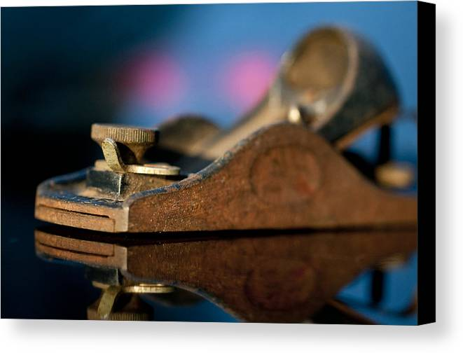 Tool Canvas Print featuring the photograph Rusty Plane by Wilma Birdwell