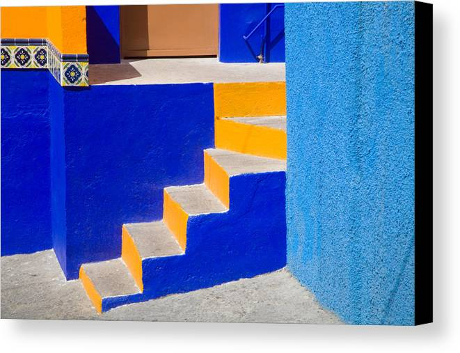 Central Mexico Canvas Print featuring the photograph So Many Angles by Eggers Photography