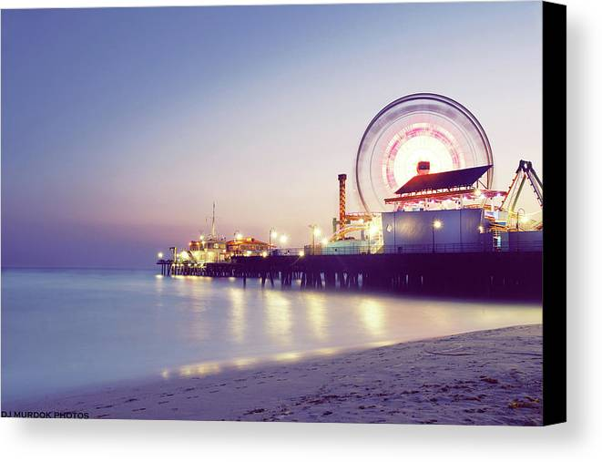 Horizontal Canvas Print featuring the photograph Spinning by Dj Murdok Photos