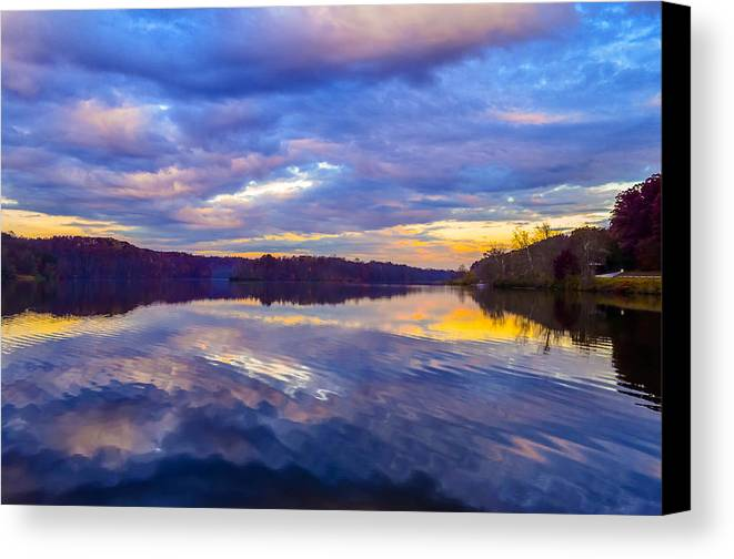 Canvas Print featuring the photograph Sunrise Surprise by Brian Stevens