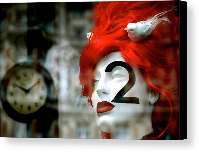 Jezcself Canvas Print featuring the photograph That In-between Time by Jez C Self