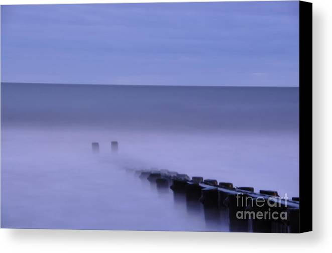 Morning Canvas Print featuring the photograph The Jetty by Tamera James
