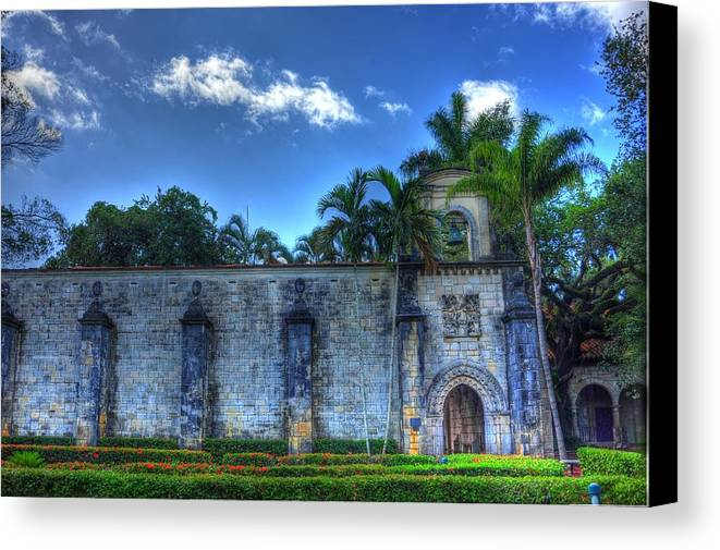 Medieval Canvas Print featuring the photograph The Monastery by Armando Perez