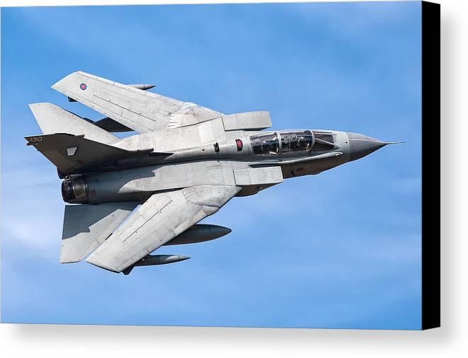 Tornado Canvas Print featuring the photograph Tornado Gr4 #9 by Tim Croton