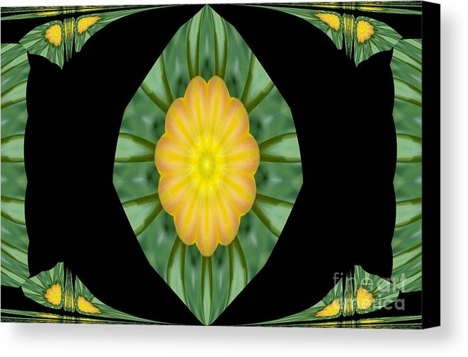 Digital Design Canvas Print featuring the photograph Tulips 2 by Mark Gilman