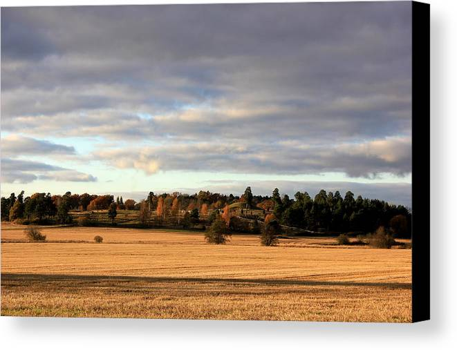 Uppsala Canvas Print featuring the photograph Uppsala by Charlotte Therese Bjornstrom