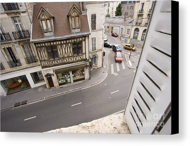 France Canvas Print featuring the pyrography View From Window  by Igor Kislev
