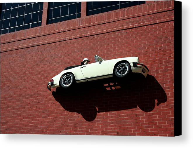 Brick Canvas Print featuring the photograph Vroom by Ric Bascobert