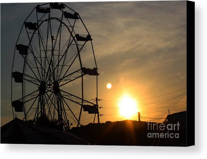 Summer Canvas Print featuring the photograph Where Has Summer Gone by Tony Cooper