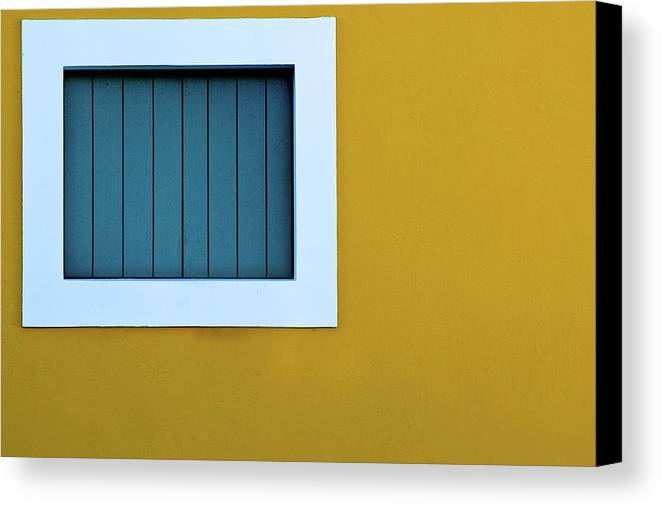 Horizontal Canvas Print featuring the photograph Window by L F Ramos-Reyes