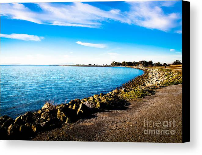 Landscape Canvas Print featuring the photograph Wonders At Seaside by Brandon James