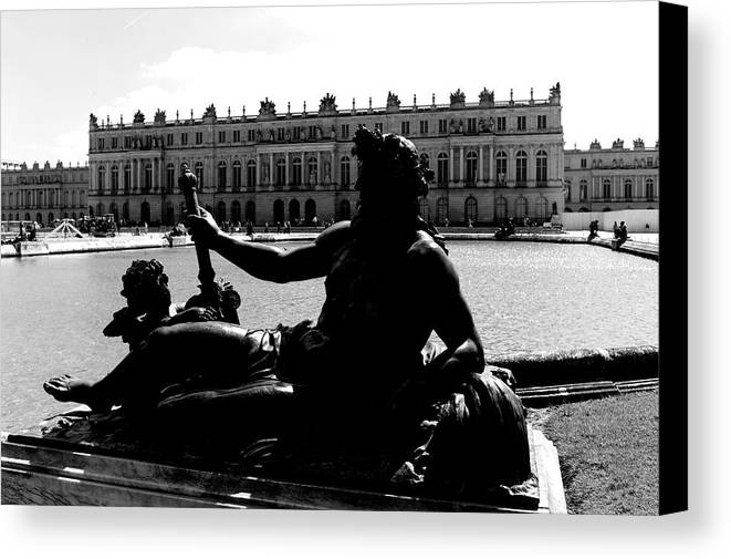 Versaille Palace Canvas Print featuring the photograph Versaille Palace by Win Naing
