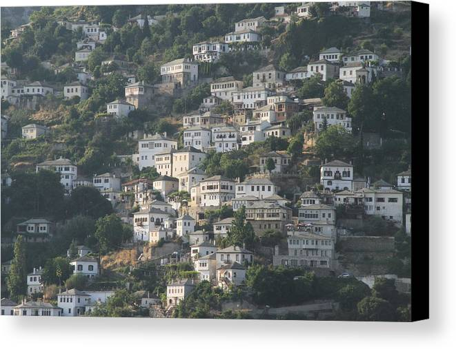 Greece Canvas Print featuring the photograph 0116883 - Greece - Pilio by Costas Aggelakis