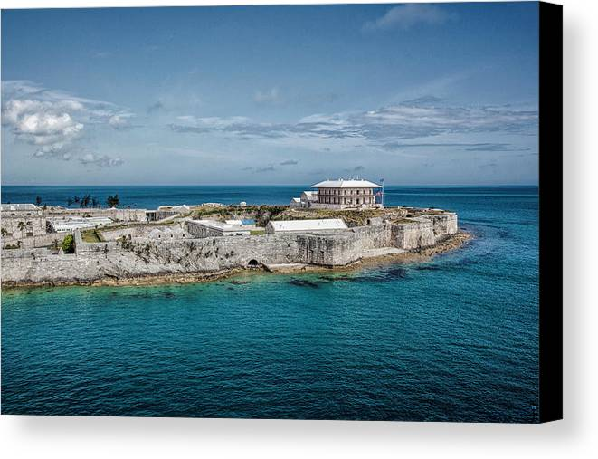 Dock Canvas Print featuring the photograph Bermuda Old Royal Naval Dockyard by Jacques Polanco