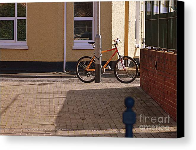 Bike Canvas Print featuring the photograph Bike by Andy Thompson