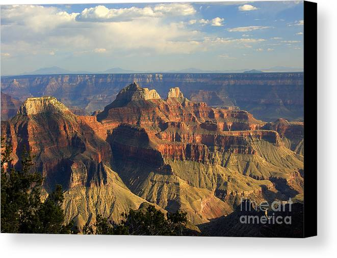 Sunset Canvas Print featuring the photograph Canyon Sunset by Neil Doren