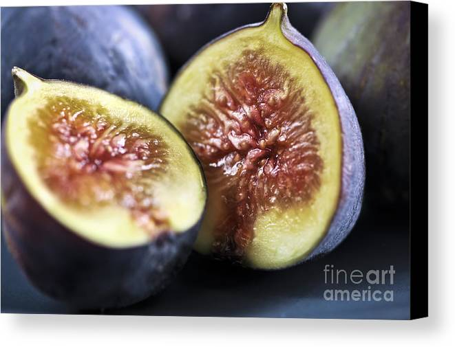 Fig Canvas Print featuring the photograph Figs by Elena Elisseeva