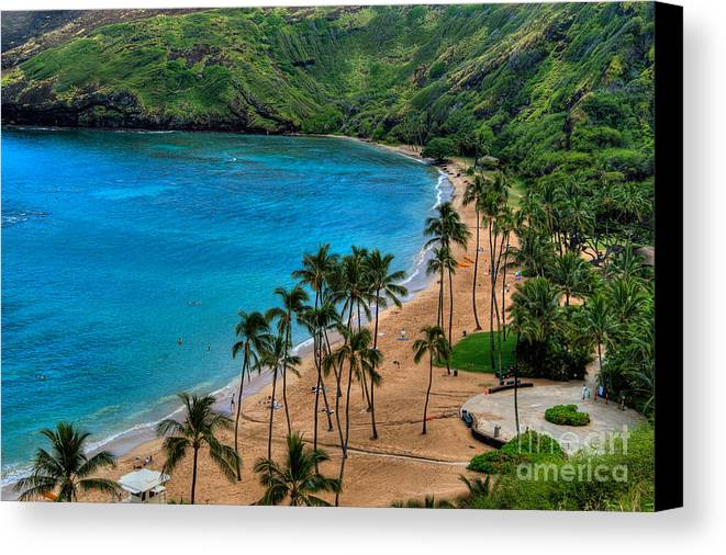 Hanauma Canvas Print featuring the photograph Hanauma Bay by Neil Doren