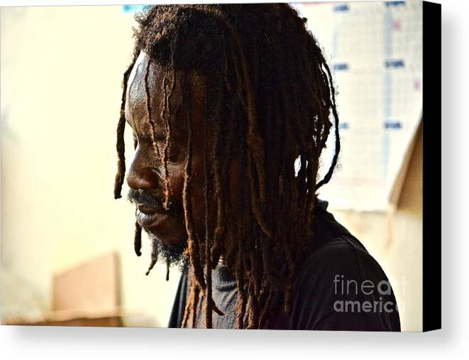 Negril Canvas Print featuring the photograph Life In A Dread by Andrea Spritzer